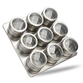 CTlite - Botes magnéticos para especias, organizador de ...