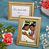 37 Beaded Design Gold Metal Place Cards Photo Frames