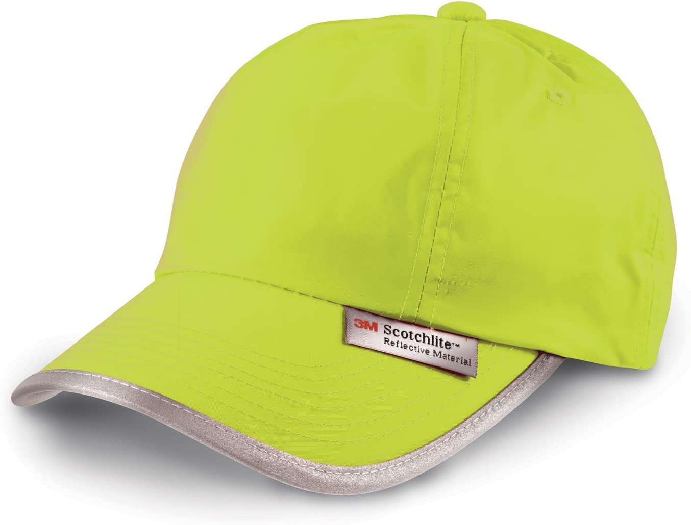 Gorra Fluorescente + Reflectantes - 3M Scotchlite - Hi-Vis Cap ...