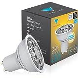 Triangle Bulbs, LED GU10 6.5-Watt, Dimmable, 50W Equivalent, 35° Wide Flood, Warm White Light Bulb - UL Listed