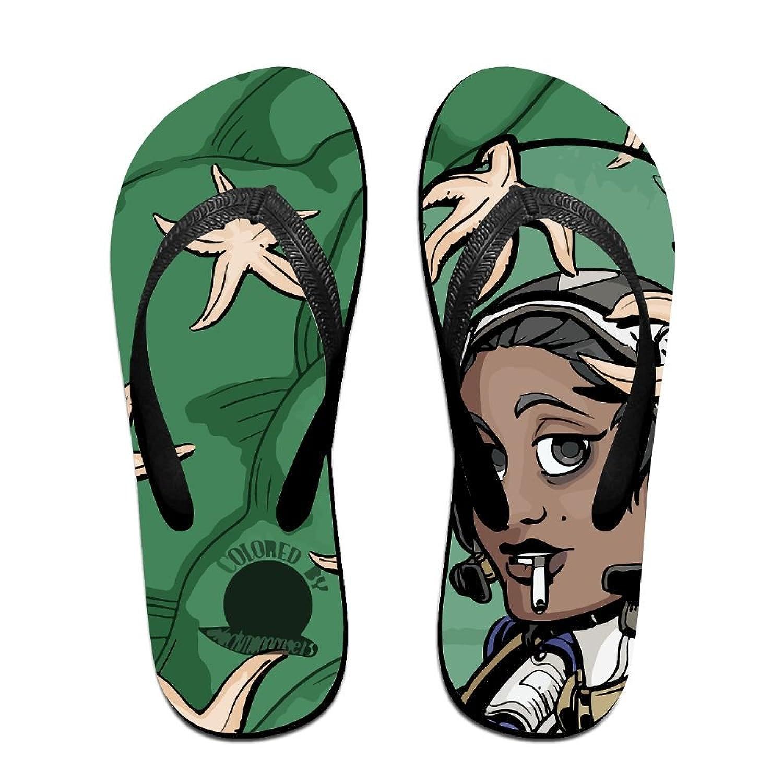 692cdf71d376 QR FUNK Unisex Cool Astronaut Smoking Summer Fashion Flip Flops Beach  Slippers
