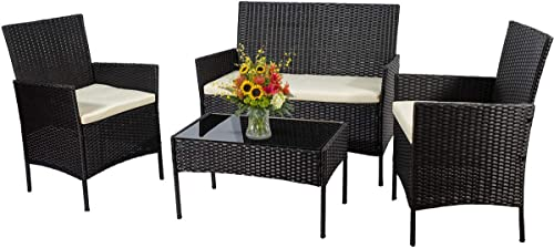 Go Light 4 Piece Patio Set All-Weather,Chairs