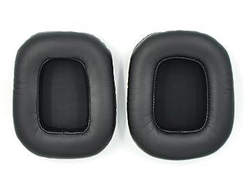 WEWOM 2 Almohadillas de Repuesto de Alta Calidad para Cascos Razer Tiamat 7.1 & 2.2 Gaming