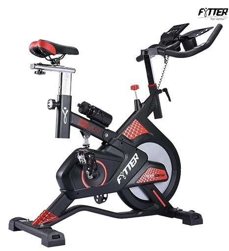 FYTTER Ryder RI-02R Bicicleta Spinning: Amazon.es: Deportes y aire ...