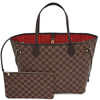a9c4273a31bc [ルイヴィトン] バッグ LOUIS VUITTON N41358 ダミエ ネヴァーフルMM ポーチ付き ショルダーバッグ
