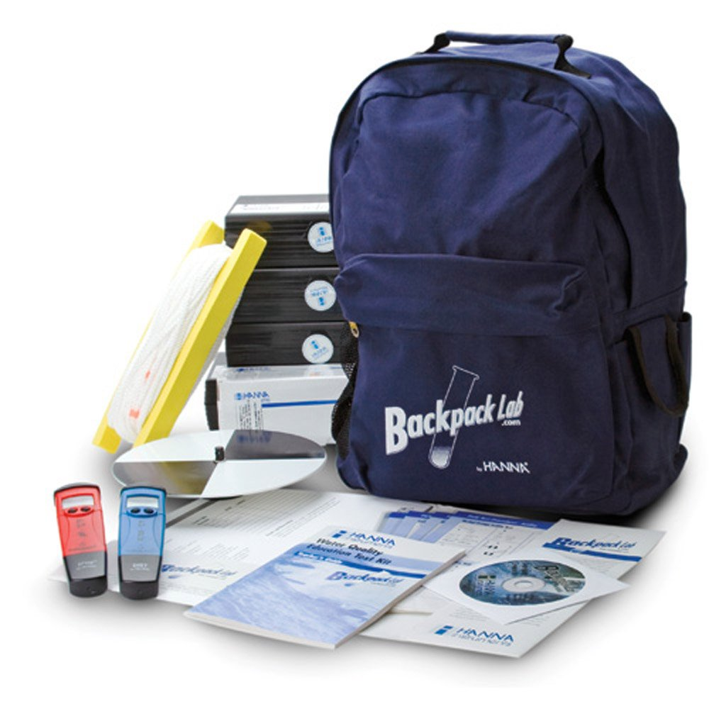 Hanna Instruments HI 3817BP Backpack Water Quality Test Kit