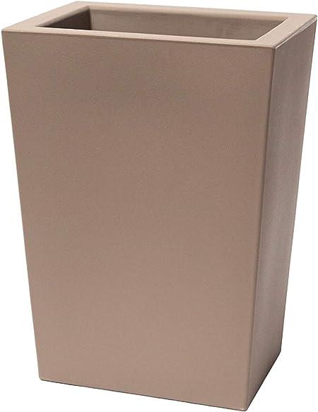 Cappuccino Teraplast Schio Cassa Alta 100cm Fioriera 100 cm Plastica 100/%