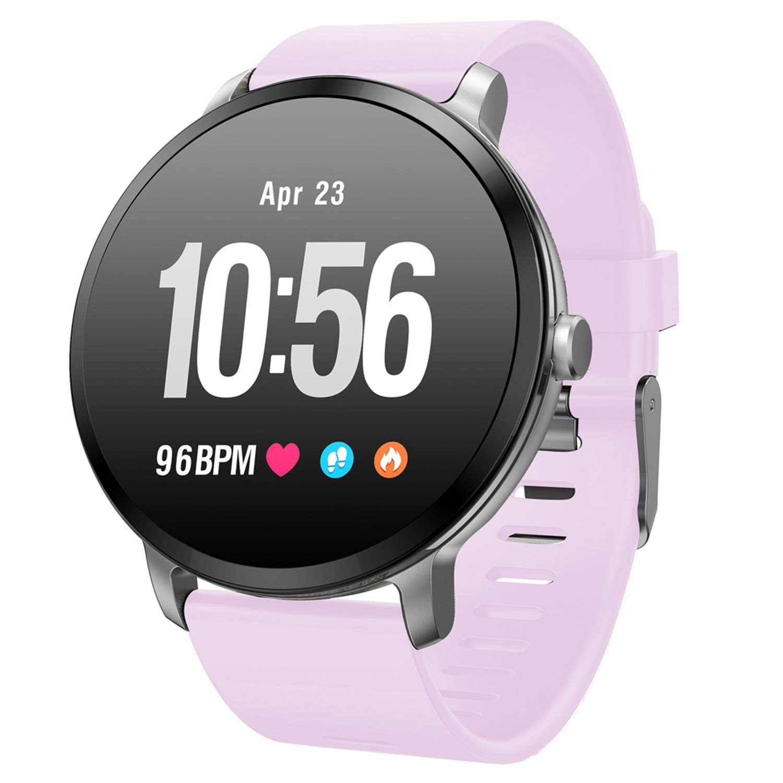 Fitness Tracker Blood Pressure Activity Tracker Heart Rate Blood Oxygen Big Face Smart Watch Sleep Monitor Calorie Counter Pedometer Watch for Women Men
