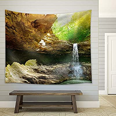 Dazzling Piece, Beautiful Waterfall Landscape, With Expert Quality