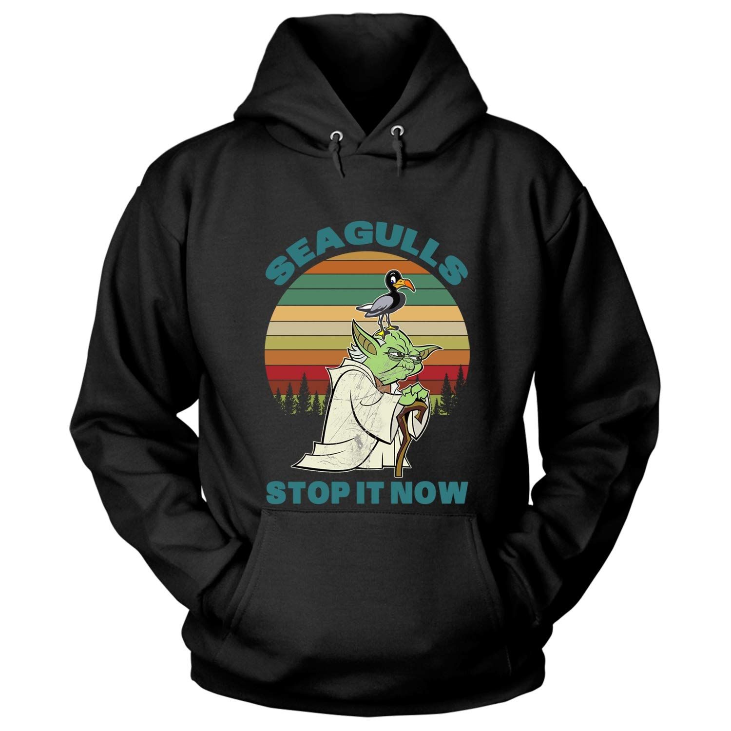 73884c60 Amazon.com: Seagulls Stop It Now SHirt, A Bad Lip Reading of The Empire  Strikes Back Shirt - Hoodie: Clothing
