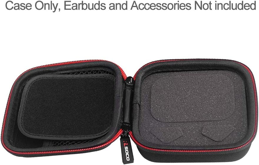RLSOCO Hard Travel Case for Sony WF-1000XM3 Noise Canceling Truly Wireless Earbuds