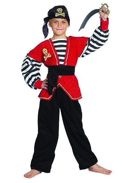 Stamco Disfraz Pirata Niño (12 - De 10 a 12 años): Amazon.es ...