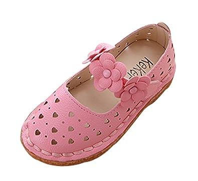 Amazon cattior toddler little kid flower girl shoes cute dress cattior toddler little kid flower girl shoes cute dress shhoes 6 m pink mightylinksfo