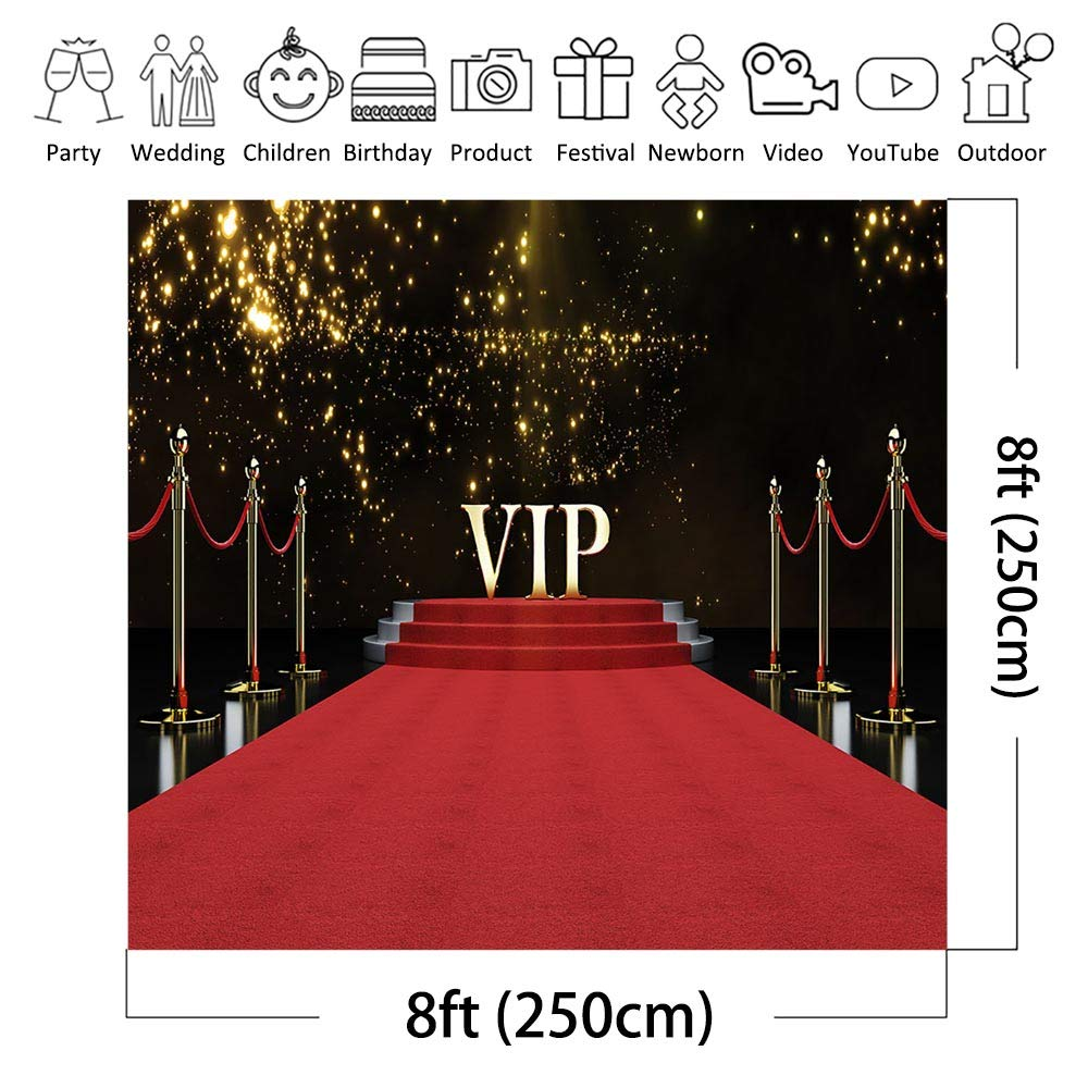 COMOPHOTO Las Vegas Photo Backdrop City Night Casino Party Banner Decoration Photography Background for Pictures 7x5ft Vinyl Printing Photo Backdrop