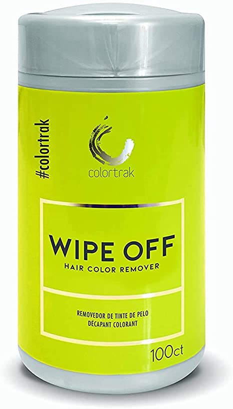 Colortrak Wipe Off Hair Color Wipes Canister, 16 Ounce by ColorTrak