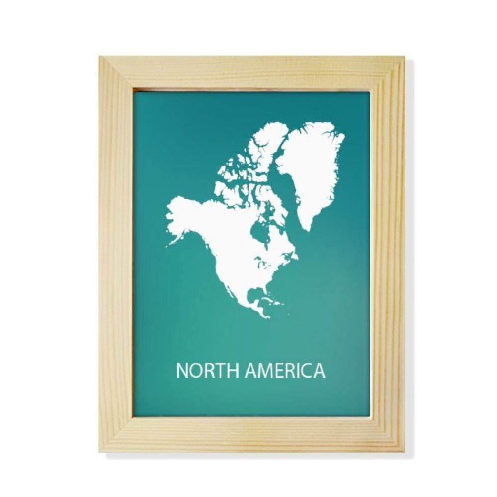 Map Of North America After Planet X.Amazon Com Diythinker North America Continent Silhouette Map