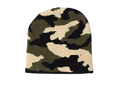 56597403e3b Krystle Prime Men s Imported Camouflage Army Military Woolen Skull Cap   Amazon.in  Clothing   Accessories