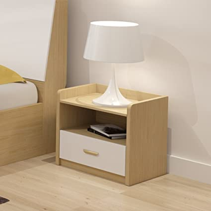 FJIWDTGYHFGT Nordic Bedside Table,Simple And Modern Simple Cabinet Locker  Mini Bedside Drawer Small Storage