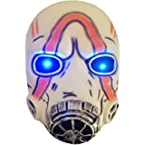 FAICCIA Game Borderlands 3 Psycho Led Light Eyes Latex Mask Scary Halloween Cosplay Props