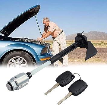 Free Size Orig Noir Voiture Capuche Serrure Remplacement Montage avec 2 Cl/é SAXTEL Ouverture Capot Verrou pour Ford Focus II Mk2 2004-2012 : 4M5AA16B970AB