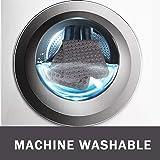 Wimaha XL Bathtub Mat, Bath Shower Mat Non Slip for Bathroom, Machine Washable, Ideal for Kids Toddler Senior, 39x16In, Solid Grey