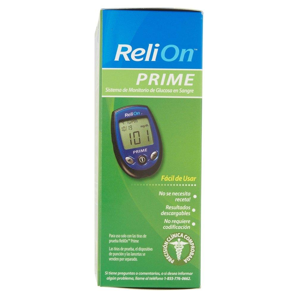 amazon com relion prime blood glucose monitoring system health