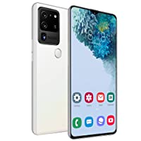 Unlocked Smartphone, 6.8IN HD Display, Face Recognition Unlocked Android10.0 Cell Phone, Dual SIM, 2GB RAM+32GB, Dual Camera 18MP+32MP, 4800mah Battery (White)