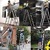 Aluminum Telescoping Telescopic Ladder 5M/16.5Ft