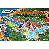 Banzai Triple Racer 16' Lawn Water Slide