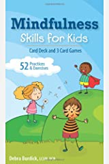 Mindfulness Skills for Kids: Card Deck and 3 Card Games Cards