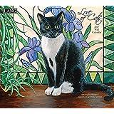 Lang 2017 Love Of Cats Wall Calendar, 13.375x24-Inch