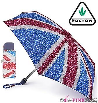 Fulton Jack Floral Bolso de mano Tamaño compacto plegable Paraguas y cubierta