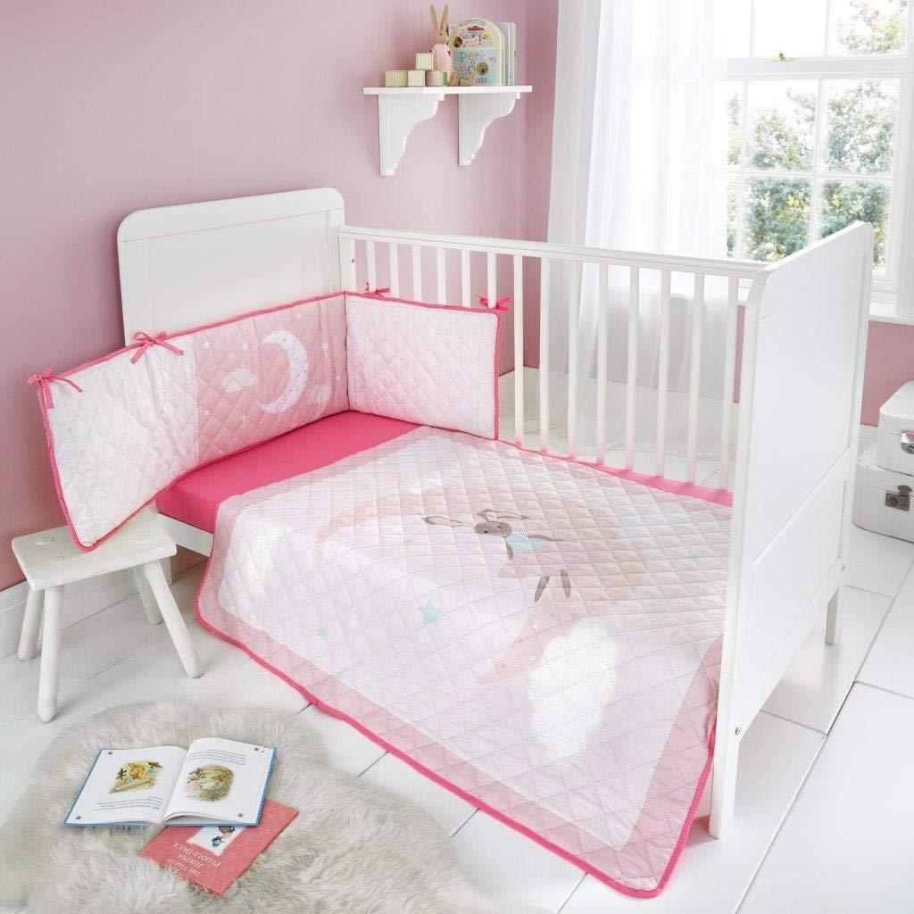 120x60 Nursery Cot Bedding All-Round Bumper 360cm Pattern 21