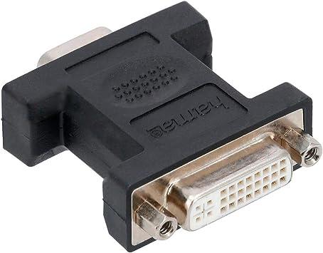 Hama Vga Dvi Adapter Geschirmt Kompaktadapter Elektronik