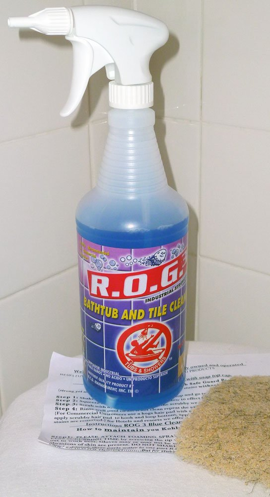 Amazon.com: Bathtub Cleaner Express ROG 3 Tub and Shower Cleaning ...