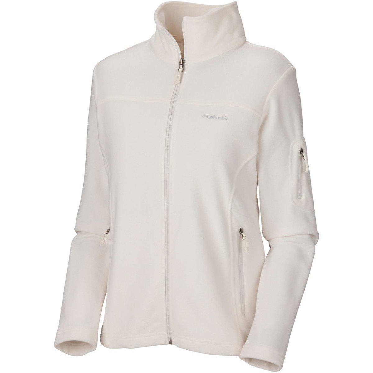 (コロンビア) Columbia Fast Trek II Fleece Jacket レディース ジャケットSea Salt [並行輸入品] S Sea Salt B077NCZGJ9