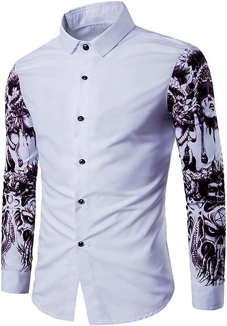 Camisa de Hombre, Boutique de Moda de otoño Camisa Casual ...