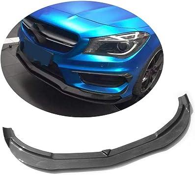 Fandixin W117 Front Lip Carbon Fiber RZ Style Front Lip for Mercedes Benz CLA Class W117 Sport Edition /& CLA45 2013-2015