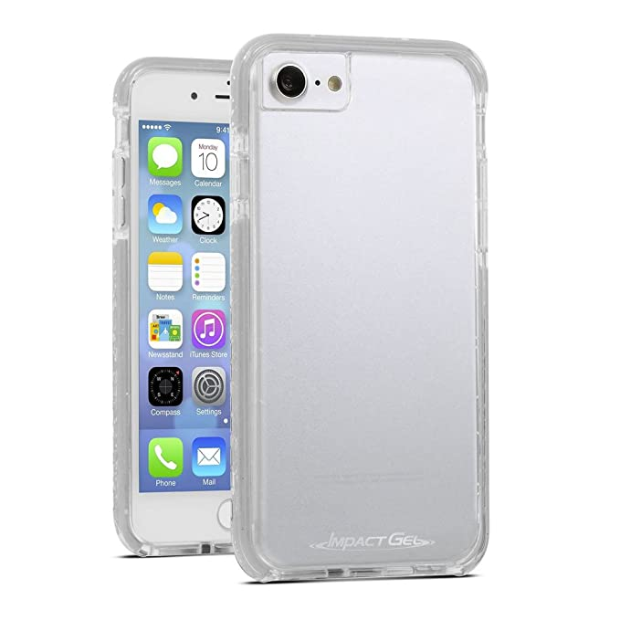 huge selection of 9a49a 3853a Impact Gel Cell Phone Case for Apple iPhone 7 - Clear