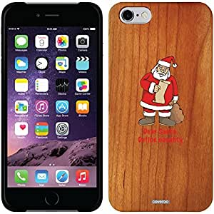 fashion case iphone 6 4.7 Madera Wood Thinshield Case with Define Naughty Design