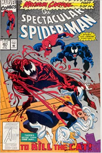 Amazon Com The Spectacular Spider Man 201 Over The Line Maximum
