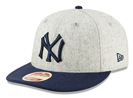 0079cc0d539 Image Unavailable. Image not available for. Color  New Era New York Yankees  9FIFTY MLB Cooperstown Melton Wool Snapback Hat