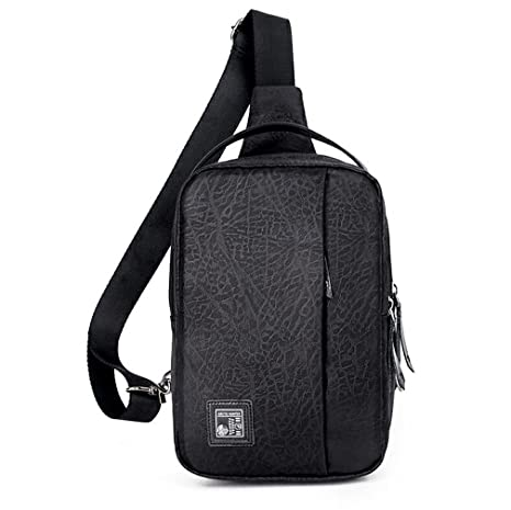 f164cc659e4f Amazon.com : KIOESLKC Oxford Men Chest Pack Single Bag Crossbody ...