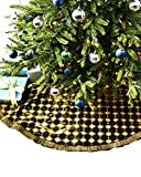 JAY STRONGWATER CHRISTMAS TREE SKIRT HARLEQUIN JEWELED OLIVE BRAND NEW