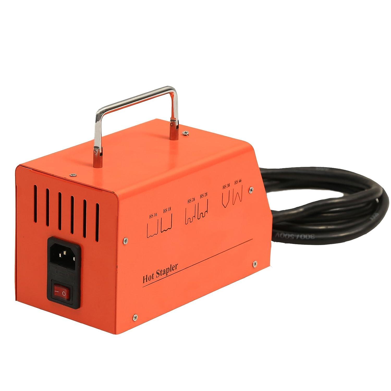 MRCARTOOL Kit de reparación plástico de la grapadora caliente 110V AC con las grapas 600PCS para la máquina de soldadura plástica auto de la reparación del ...