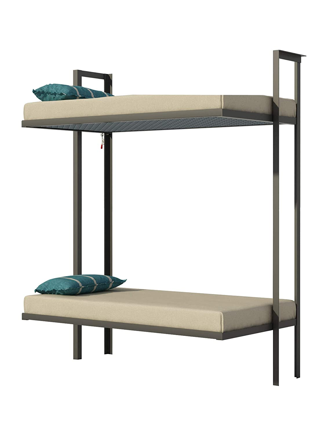 Amazon.com: Folding Bunk Bed Plans DIY Bedroom Furniture ...