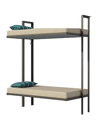 Amazon.com: Folding Bunk Bed Plans DIY Bedroom Furniture Kids Adult ...