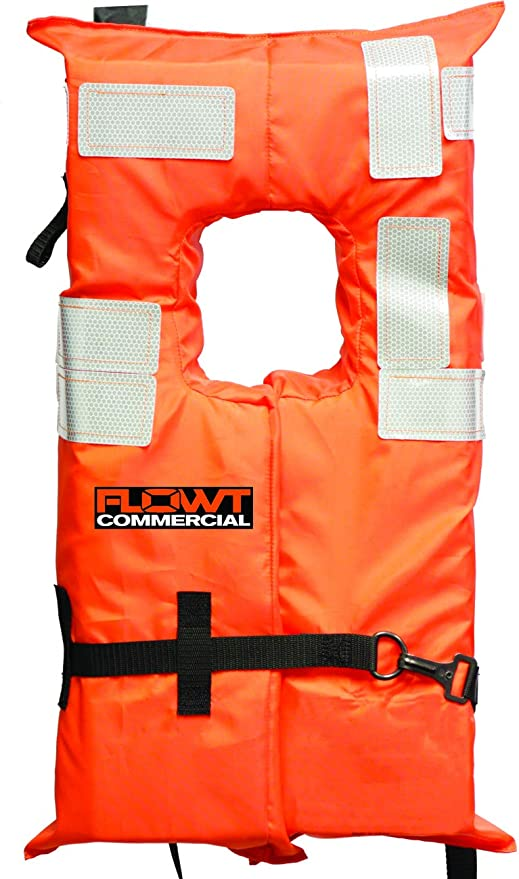 USCG Approved FLOWT Type I Commercial Off-Shore Life Vest