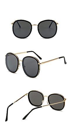 Globaltrade001 Unisex Gafas de Sol Polarizada Redondas Retro ...