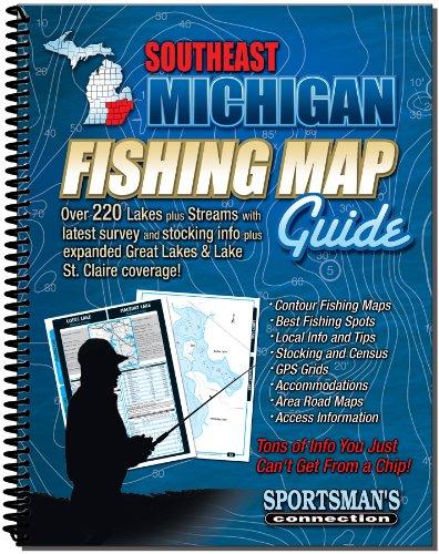 UPC 790175006029, Southeastern Michigan Fishing Map Guide